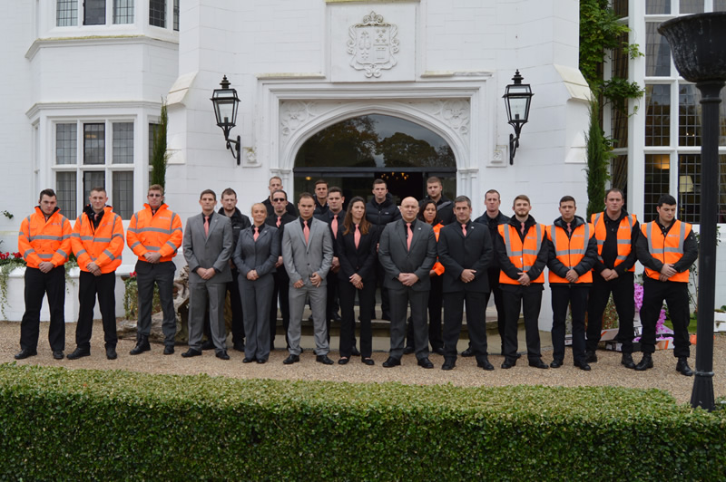 Security for George Clooneys Wedding